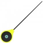 Вудка-балалайка зимова Lucky John MORMAX (жовта) 24,6см