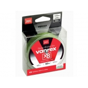Шнур Lucky John Vanrex х8 Light Green 120m 0.10mm 5,4кг (LJ4112-010)