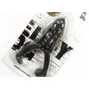 """Приманка-жаба гумова поверхня незачеп. FREDDY FROG LJ 3D Series  4"""" /21g / 009*6"""