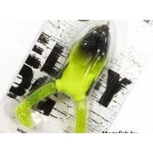 """Приманка-жаба гумова поверхня незачеп. FREDDY FROG LJ 3D Series  4"""" /21g / 010 *6"""