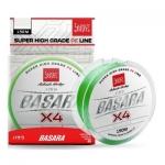 Шнур BASARA Light Green Х4 PE 150 м 0,091 мм