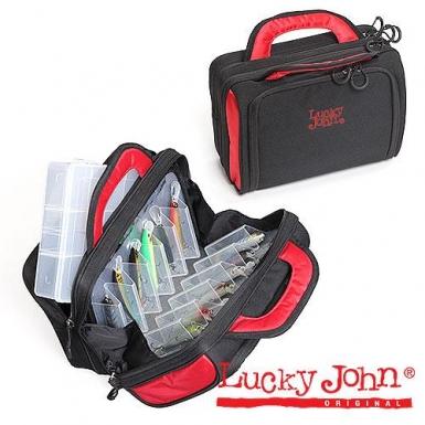 Сумка рыб.с коробкой (1шт.) Lucky John Street Fishing tackle bag 30х15х20 LJ-106