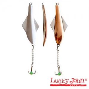 Блесна зимняя Lucky John GLIDER 60мм / CS